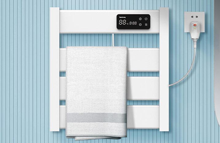 M02-5250智能碳纤维电热毛巾架